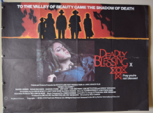 Deadly Blessing Horror Poster - UK Quad